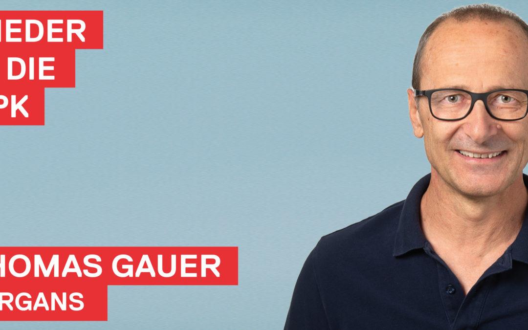 Thomas Gauer wieder in die GPK Sargans